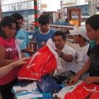 Weihnachten 2011 Einkauf für die Jungen
